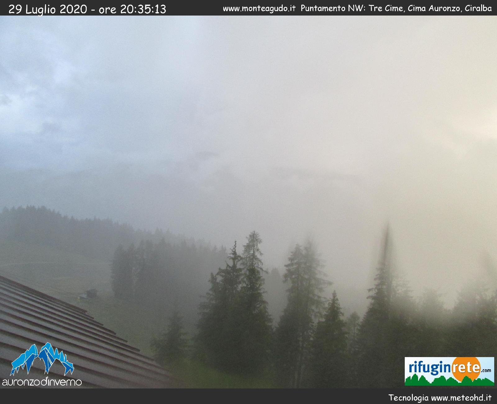Webcam Auronzo di Cadore Monte Agudo