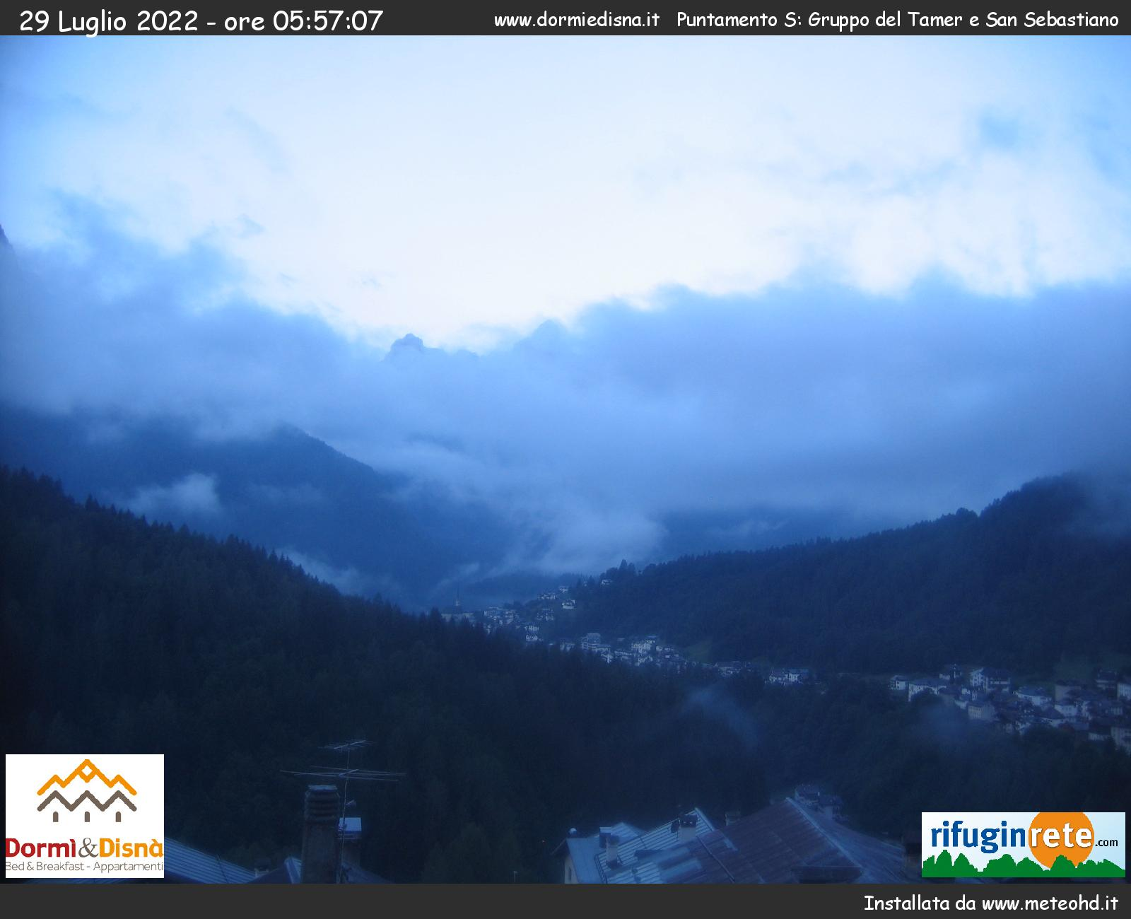 webcam fornesighe val di zoldo valzoldana