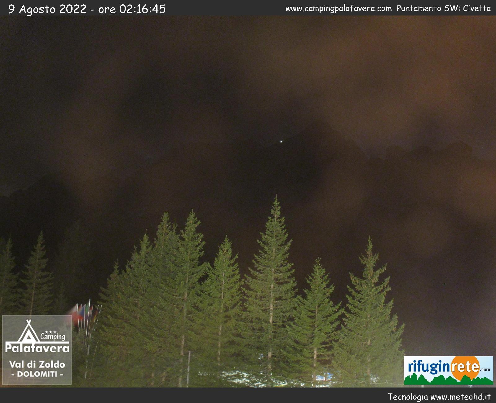 Webcam Camping Palafavera