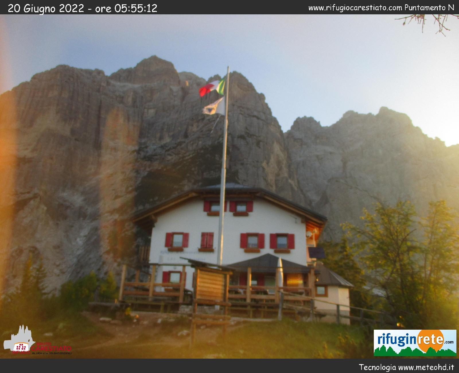 WEBCAM RIFUGIO CARESTIATO