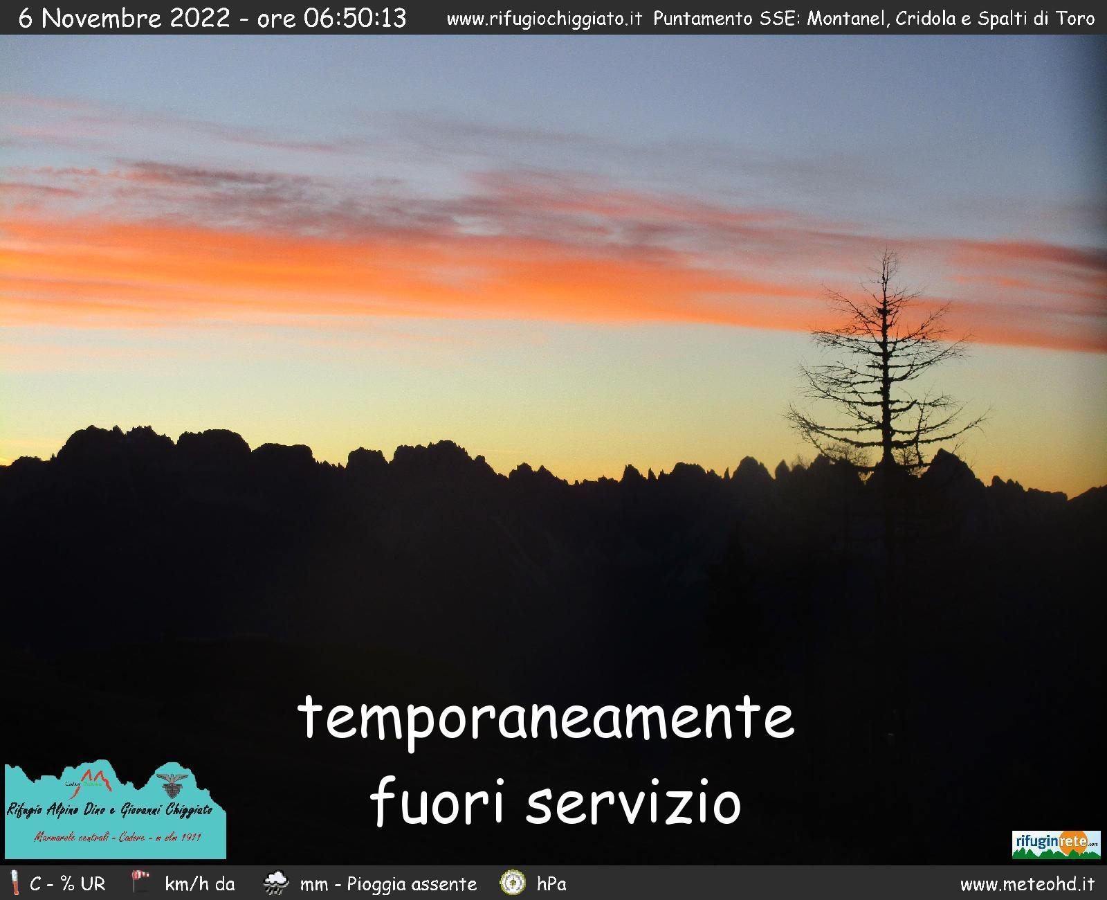 Rifugio Chiggiato - Montanel Cridula