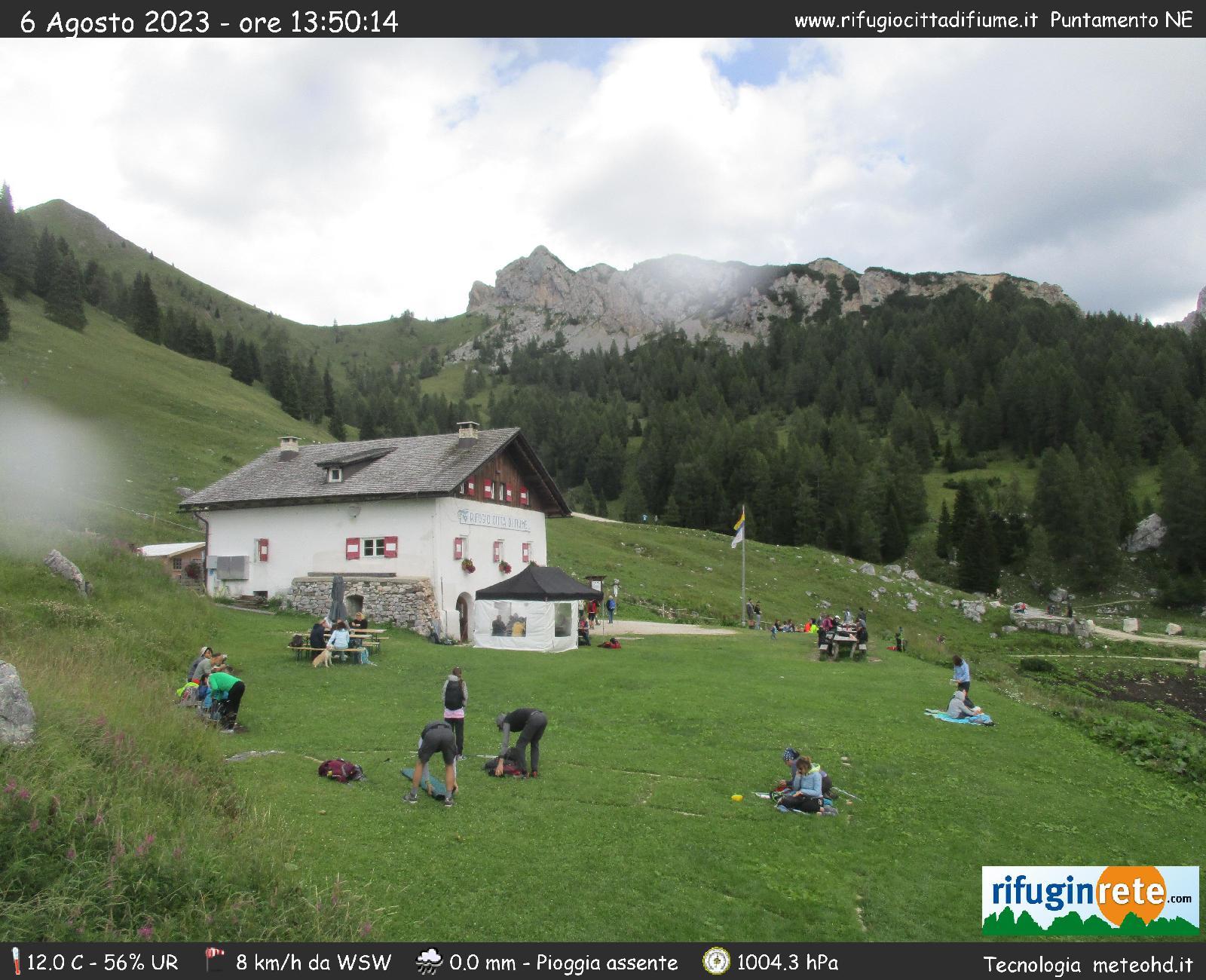 webcam citta di fiume