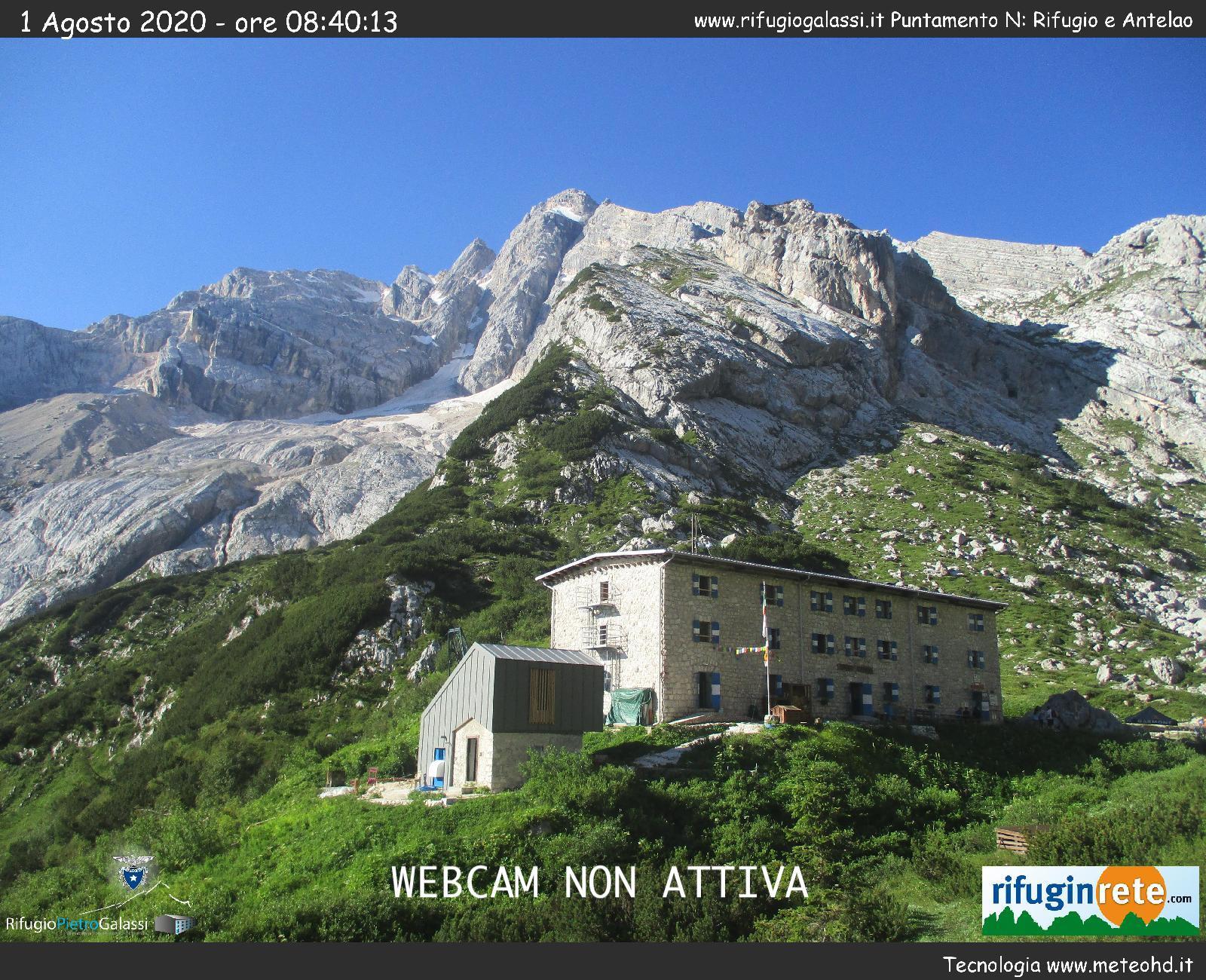 Webcam Rifugio Galassi