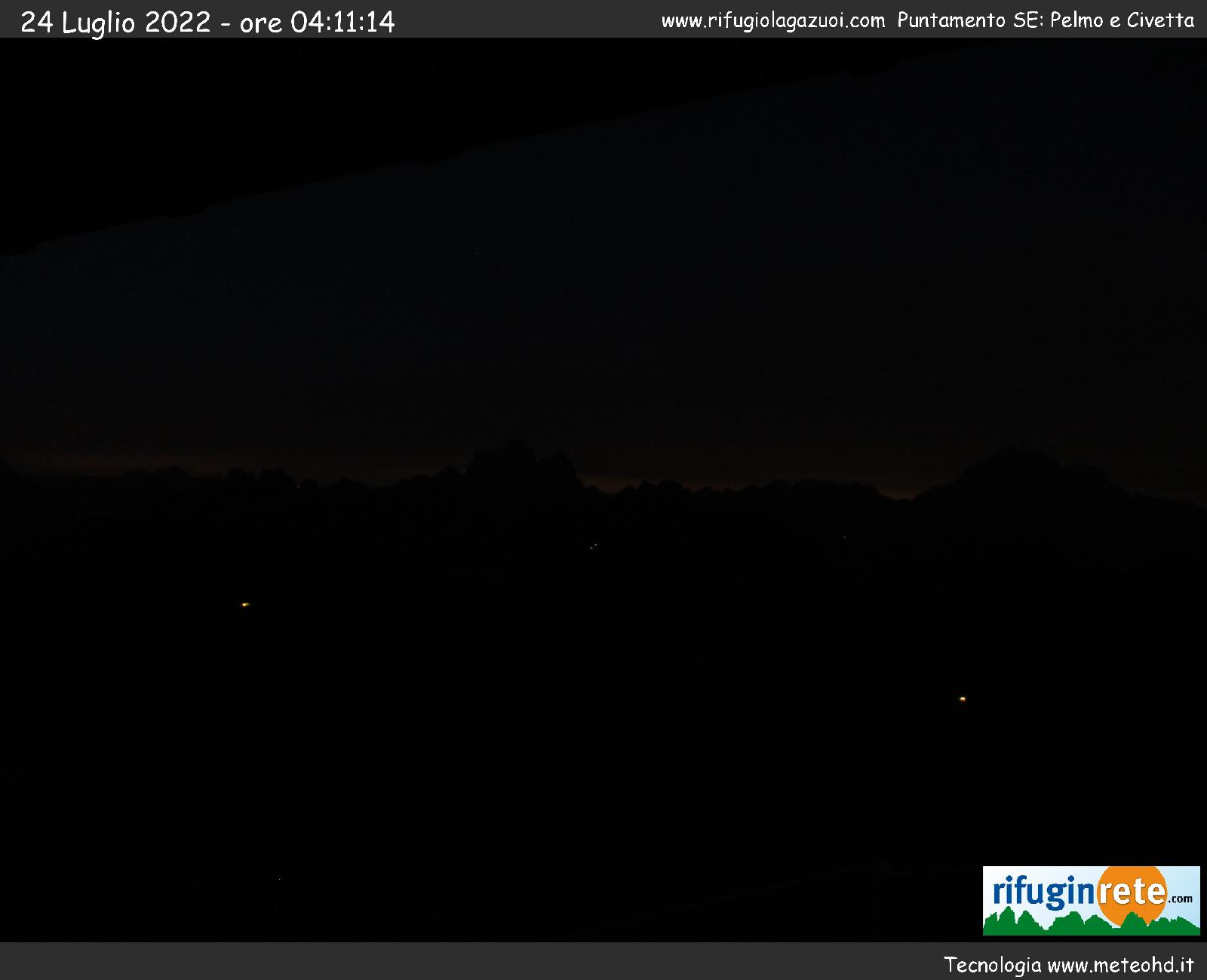 Webcam Rifugio Lagazuoi mt 2752 BL