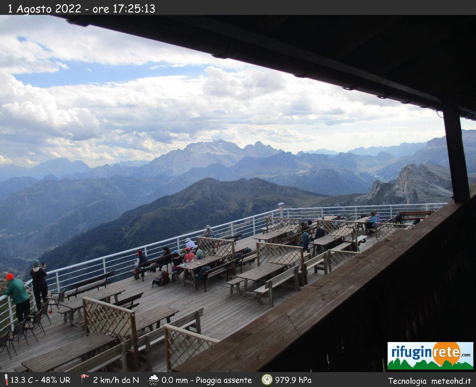 Webcam Falzarego - 5 Torri