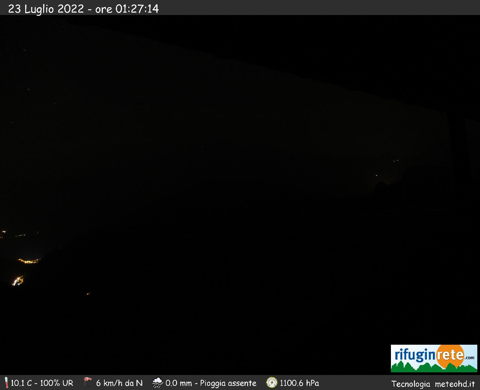 Webcam from Lagazuoi Refuge toward Marmolada
