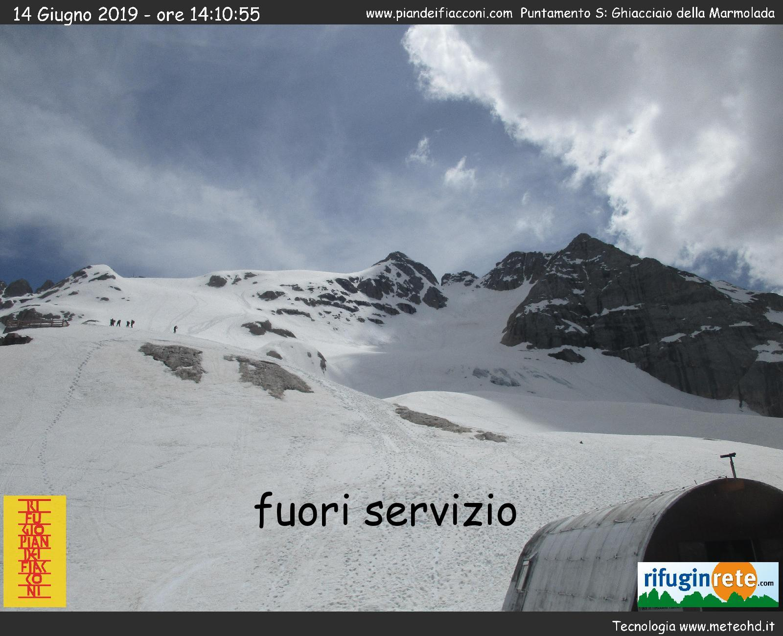 Webcam Ghiacciaio Marmolada